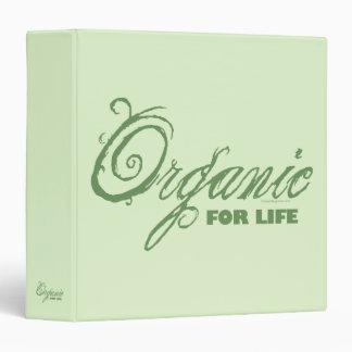 """Orgánico para la vida carpeta 1 1/2"""""""