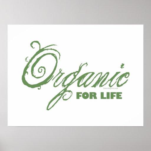 Orgánico para la vida poster