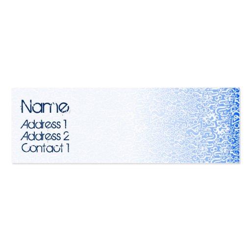 ORGANICS blue Business Card