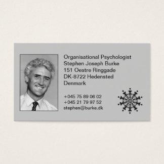 Organisational Psychologist - Stephen Joseph Burke Business Card