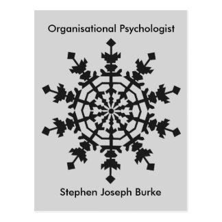 Organisational Psychologist - Stephen Joseph Burke Postcard
