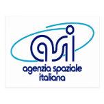 Organismo aeroespacial italiano Agenzia Spaziale I Postales