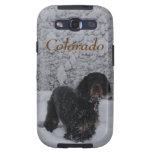 Organismo de Colorado Gordon en caso de la galaxia Samsung Galaxy S3 Protectores