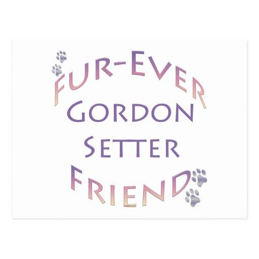 Organismo de Gordon Furever Postales