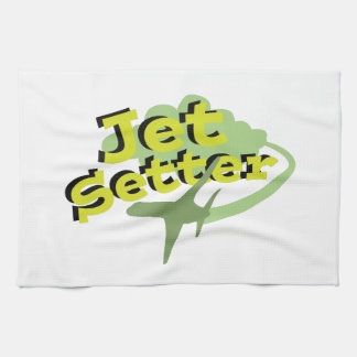 Organismo del jet toalla de cocina