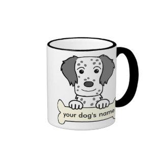 Organismo inglés personalizado tazas de café