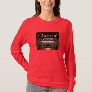 Organist at your service ladies tee