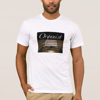 Organist at your service t-shirt