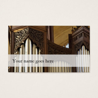 Organist business cards - chubby