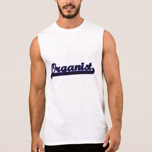 Organist Classic Job Design Sleeveless Shirt Tank Tops, Tanktops Shirts