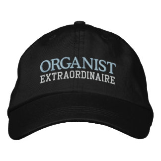 Organist Extraordinaire Hat Embroidered Hats