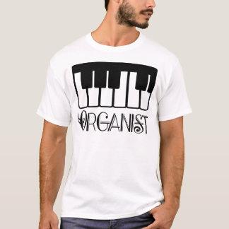 Organist Keyboard Gift T-Shirt