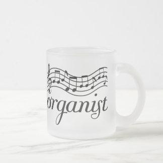 Organist Musical staff Coffee Mugs