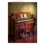 Organist - Playing the songs of the gospel Card