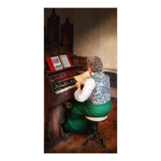 Organist - The lord is my shepherd Photo Cards