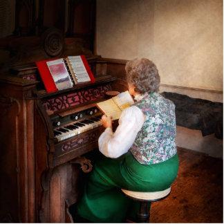 Organist - The lord is my shepherd Photo Sculpture