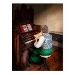 Organist - The lord is my shepherd Post Card