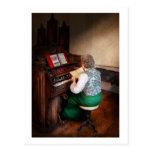Organist - The lord is my shepherd Postcard
