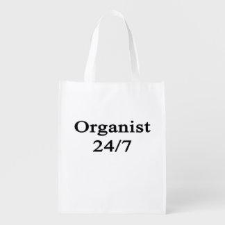 Organista 24/7 bolsas de la compra