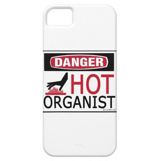 Organista caliente funda para iPhone 5 barely there