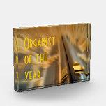 Organista del premio del año