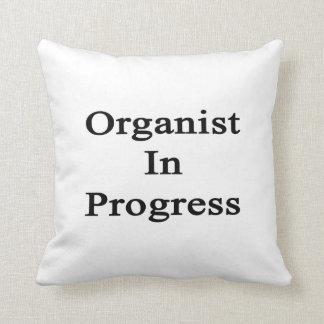 Organista en curso almohada