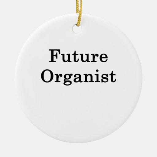 Organista futuro ornamento de navidad