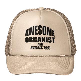 Organista impresionante gorra
