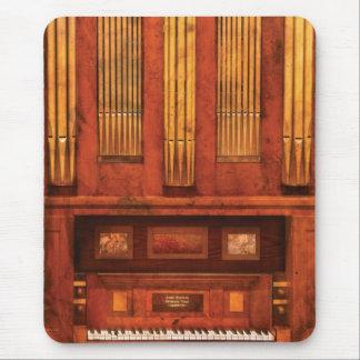 Organista - órgano de Skippack Ville - 1835 Alfombrillas De Ratón