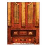 Organista - órgano de Skippack Ville - 1835 Postal