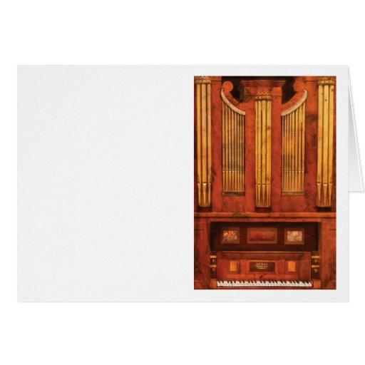 Organista - órgano de Skippack Ville - 1835 Tarjetas