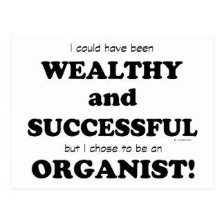 Organista rico y acertado postales