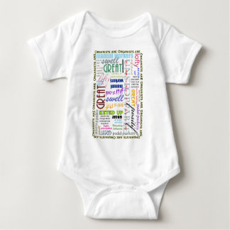 Organists are everything! baby bodysuit
