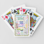 Organists are Everything! playing cards Bicycle Playing Cards