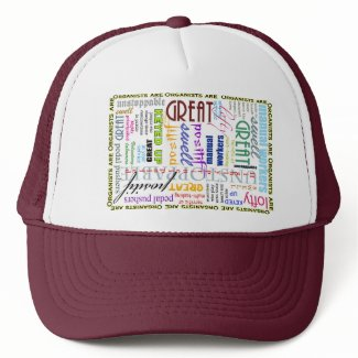 Organists are everything! trucker hat