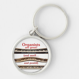 Organists are Great and Swell keychain