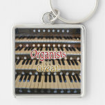 Organists are great key chain