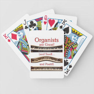 Organists are Great playing cards