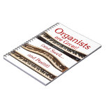 Organists are Great - red letters Spiral Note Book