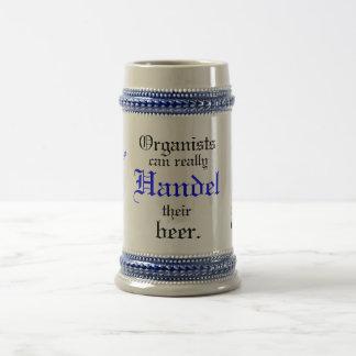 Organists can really Handel their beer! Beer Stein