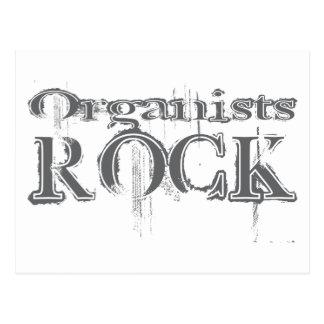 Organists Rock Postcard