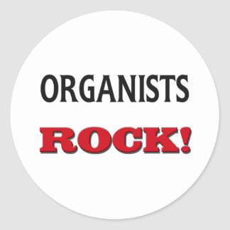 Organists Rock Stickers