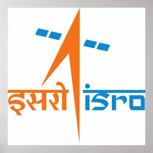 Organización de investigación india del espacio - póster
