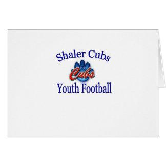 Organización del fútbol de la juventud de Shaler C Tarjeta De Felicitación