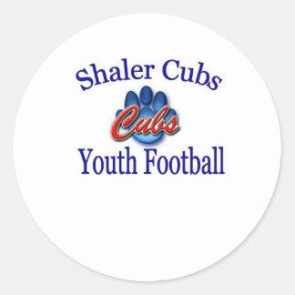 Organización del fútbol de la juventud de Shaler Pegatina Redonda