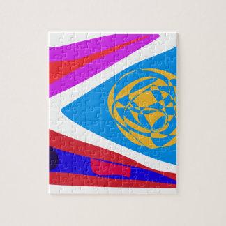 Organización global puzzle con fotos