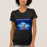 Organización para la atención sanitaria camisetas