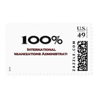 Organizaciones internacionales Administra del 100 Sello