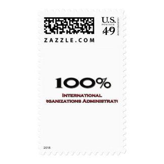 Organizaciones internacionales Administra del 100 Sellos