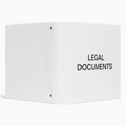 """Organizador de los documentos jurídicos carpeta 1 1/2"""""""